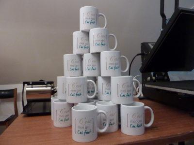 Impression de mug personnalisé
