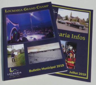 bulletin municipal Locmaria-Grand-Champ : mise en page et l'impression